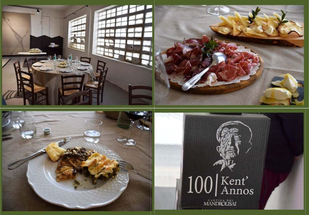 23. Samugheo, The Cantina di Samugheo – Our lunch! The winery calls the wines Kent' Annos