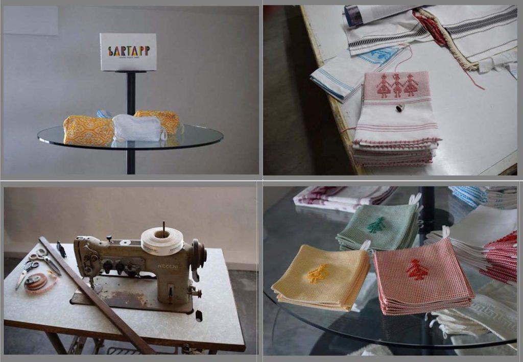 29. Samugheo, SARTAPP Centro Tessuti Sardi - some of the smaller, sundry creations of SARTAPP.