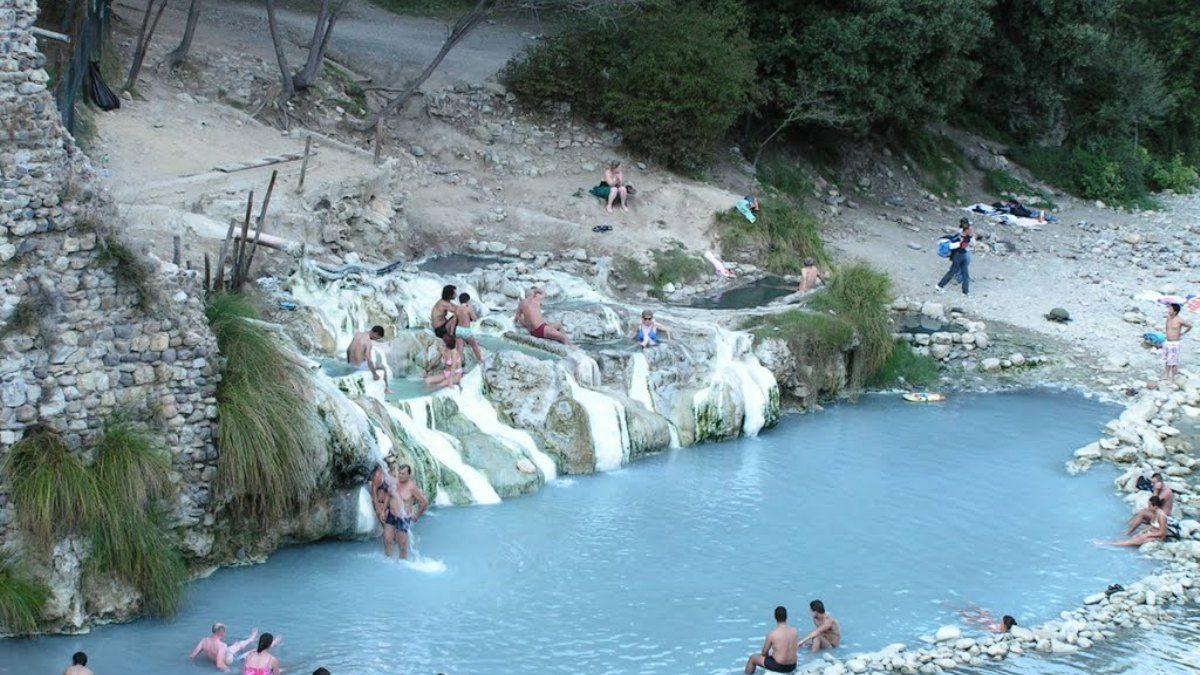 Thermal spring of Bagni di Petriolo