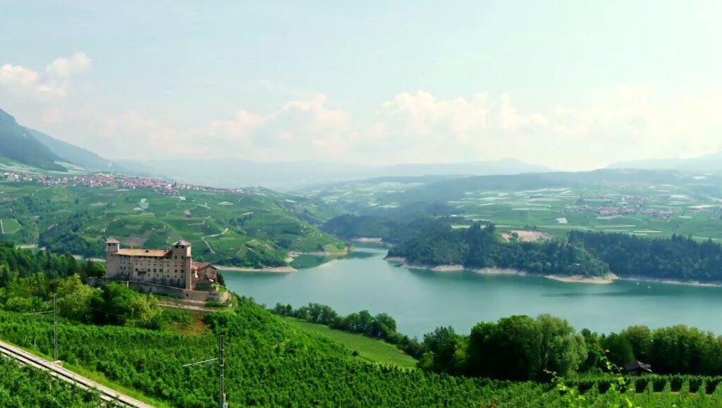 Lake St Giustina, Trentino