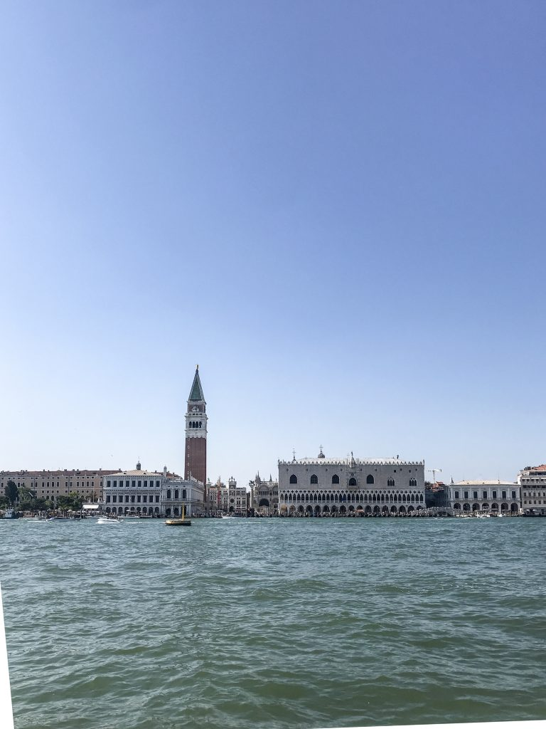 St Mark's Square, taken from the Vaporetto
